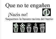 que no te engañen nazis no